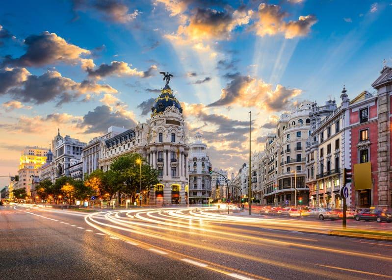 Immersion linguistique à Madrid